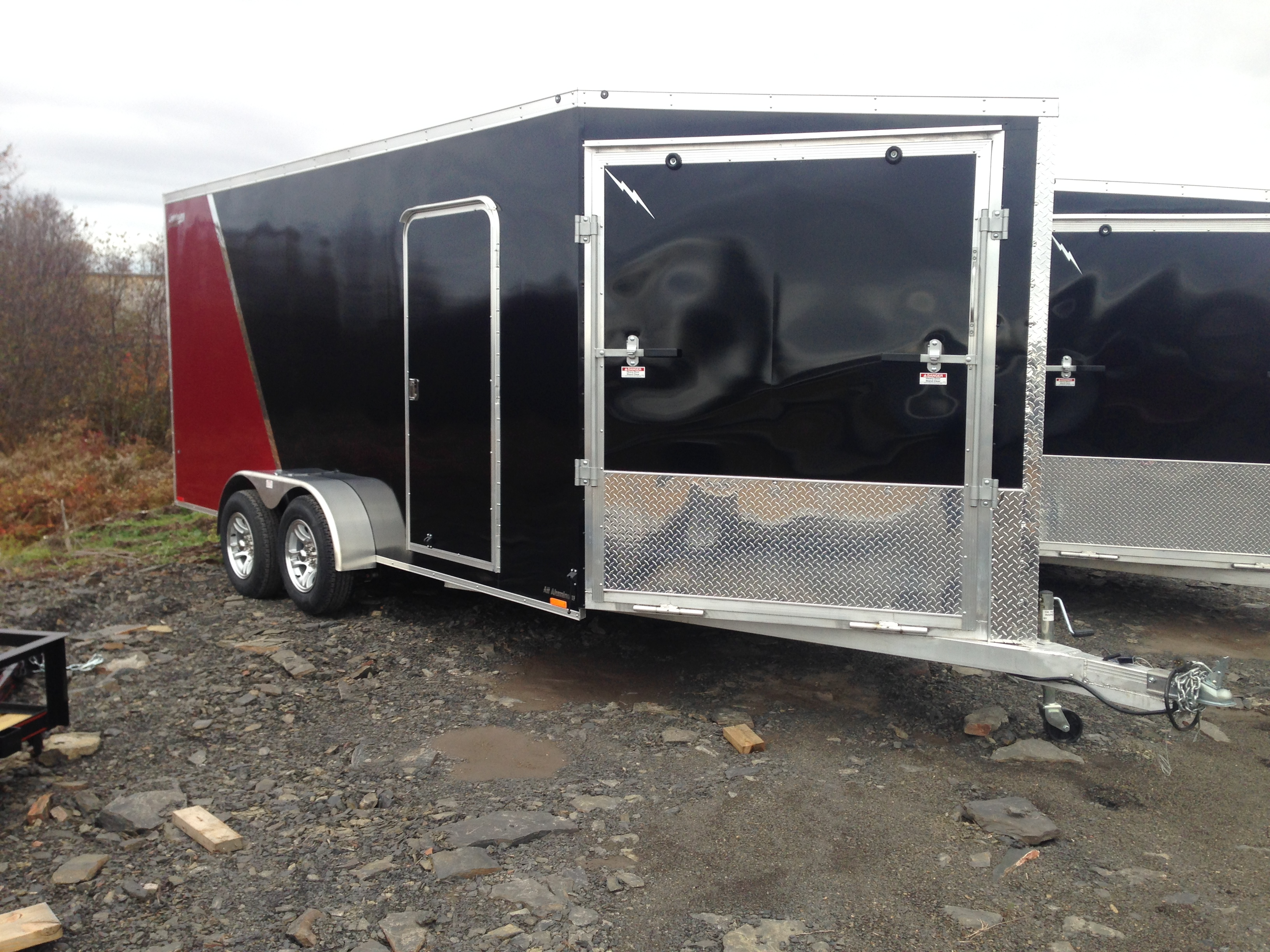 2014 Lightning 7' x 16' Enclosed Cargo