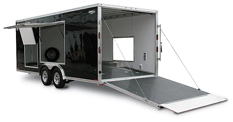 2014 Titan 5 X 8 Enclosed Cargo Central Tire Service